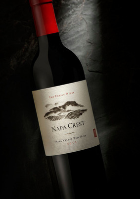 Yao Family Wines Debuts Inaugural Vintage Of NAPA CREST 2010 Napa Valley Red Wine Blend.  (PRNewsFoto/Yao Family Wines)