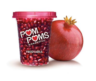 POM POMS, POM Wonderful's Ready-to-Eat Pomegranate Arils, Are Now In Store!  (PRNewsFoto/POM Wonderful)