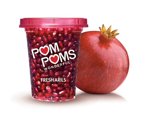 POM POMS, POM Wonderful's Ready-to-Eat Pomegranate Arils, Are Now In Store!  (PRNewsFoto/POM Wonderful)