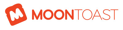 Moontoast logo. (PRNewsFoto/Moontoast) (PRNewsFoto/MOONTOAST)