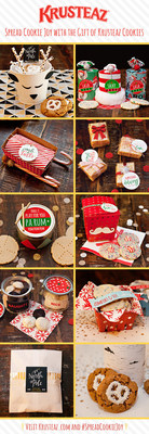 Ten cookie gift ideas from Krusteaz Baker's Dozen member Jenn Sbranti of the blog Hostess With the Mostess.