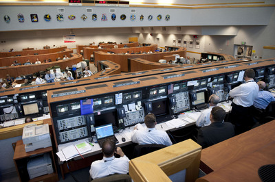 Kennedy Space Center Visitor Complex is offering a second rare behind-the-scenes tour for its 50th anniversary year, allowing visitors inside the Launch Control Center, where NASA directors and engineers supervised all of the 152 launches for the space shuttle and Apollo programs.  (PRNewsFoto/Kennedy Space Center Visitor Complex)