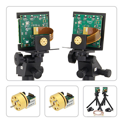 60 GHz Waveguide Transmitter/Receiver Modules and 60 GHz Development System.  (PRNewsFoto/Pasternack Enterprises, Inc.)