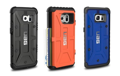URBAN ARMOR GEAR LAUNCHES 3 NEW CASES FOR SAMSUNG GALAXY S7 SERIES Lightweight Rugged Cases with MIL-SPEC Protection & Option to Carry 4 Cards