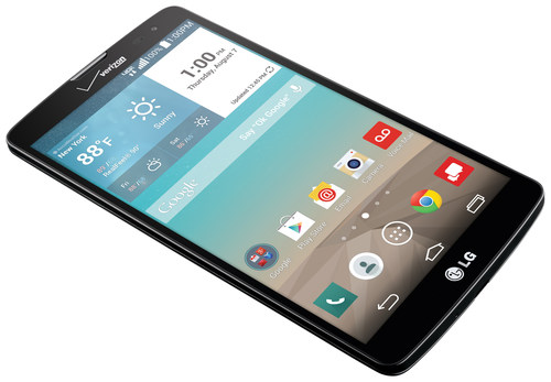 The all-new LG G Vista, available now on the Verizon Wireless 4G LTE Network (PRNewsFoto/LG Electronics MobileComm USA) (PRNewsFoto/LG Electronics MobileComm USA)