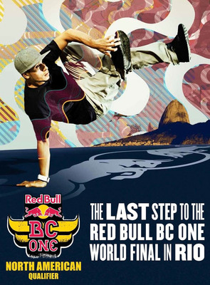 The Red Bull BC One North American Qualifier is coming back to Chicago for the second year in a row at the Aragon Entertainment Center.  (PRNewsFoto/Red Bull)