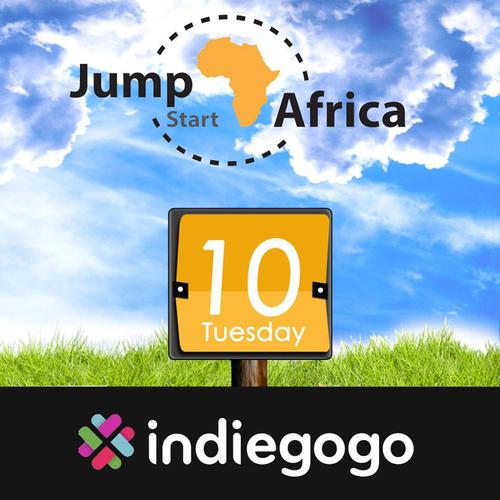 Jumpstart Africa is on Indiegogo! (PRNewsFoto/Jumpstart Africa) (PRNewsFoto/JUMPSTART AFRICA)