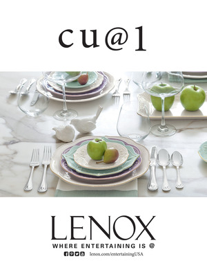 Lenox: French Perle.  (PRNewsFoto/Lenox Corporation)