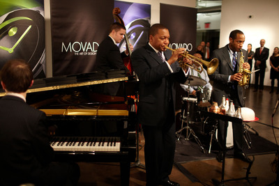 The Wynton Marsalis Quintet Performing at 'Night of Discovery'.   (PRNewsFoto/Movado Group, Inc.)