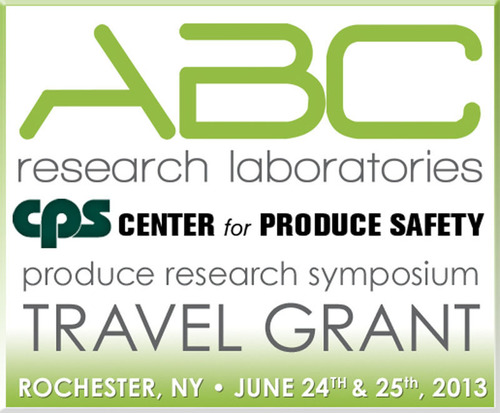 Produce safety testing lab ABC Research Laboratories partners with the Center for Produce Safety for the 2nd time to provide deserving produce safety researchers the opportunity to participate in the CPS Symposium. It is the 4th year that CPS has hosted  ...