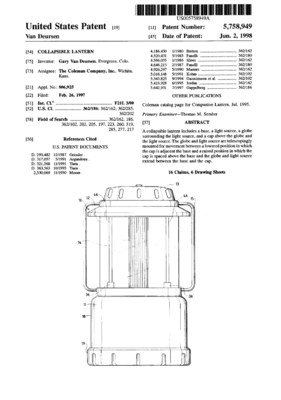 United States Patent Number 5,758,949