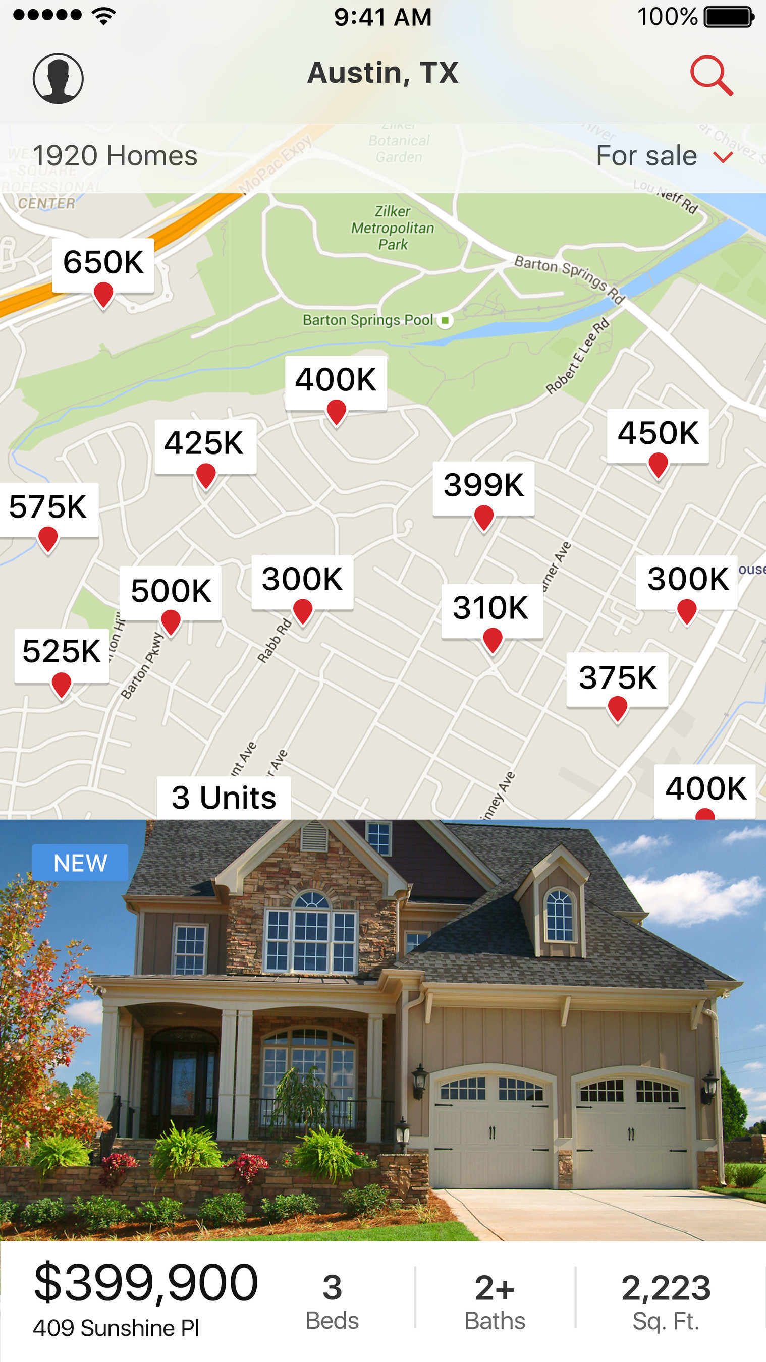 Realtor.com® Simplifies Home Search With Major App Enhancement on home map plan, home map design, home plan search, home new construction, home employment search, home finder by map,