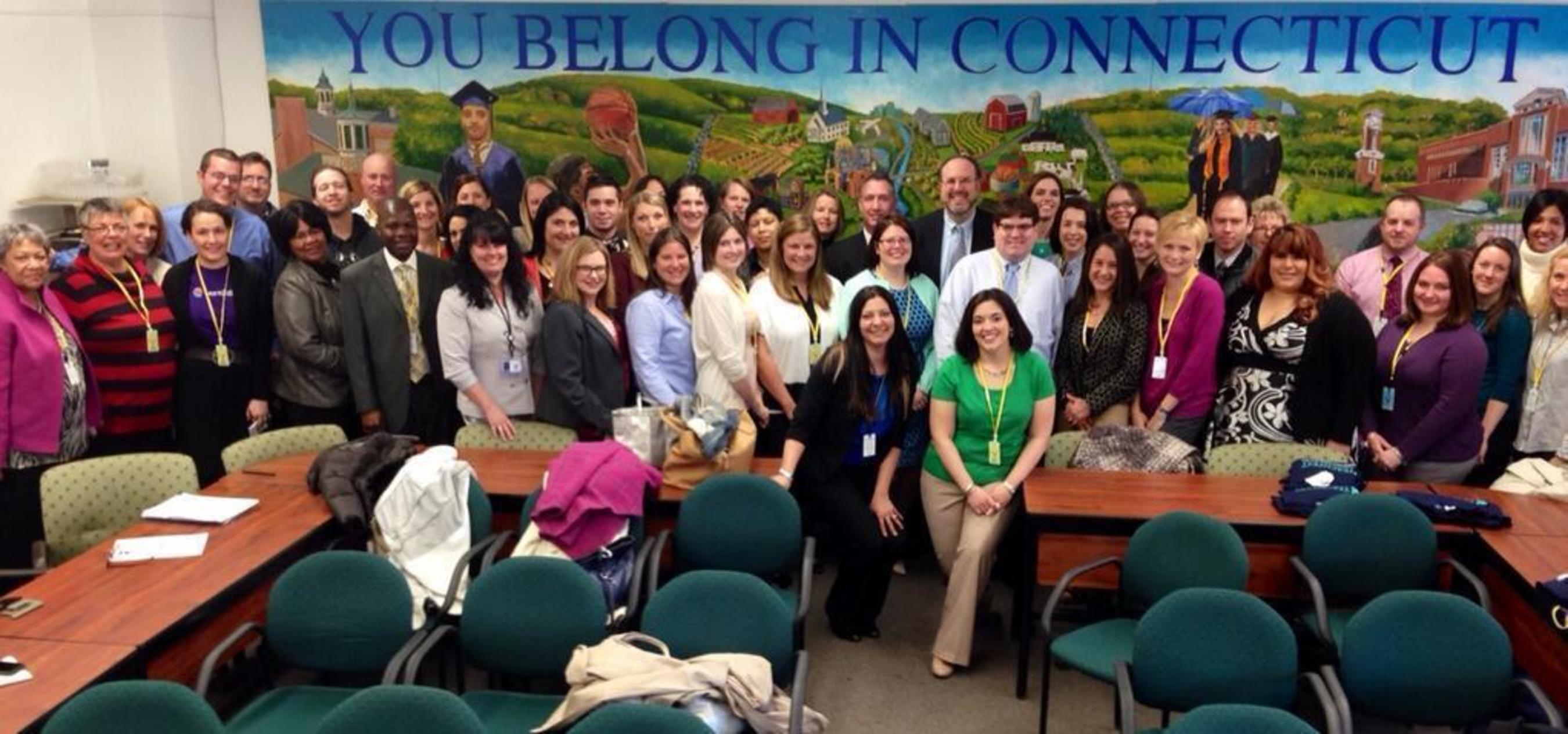 Commissioner Stefan Pryor announces members of the 2014 Connecticut Dream Team (PRNewsFoto/LearnZillion, Inc.)