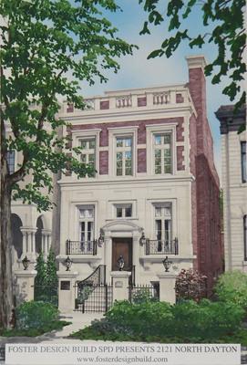 Foster Design Build SPD Presents 2121 N. Dayton Street in Chicago, Illinois - www.fosterdesignbuild.com