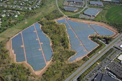 KDC Solar and Lilly Commence Commercial Operations on 9.95-Megawatt Solar Panel System (PRNewsFoto/KDC Solar LLC)
