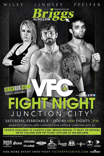 Briggs Auto will once again serve as presenting sponsor of the VFC Fight Night in Junction City on Feb. 8.  (PRNewsFoto/Briggs Auto Group)