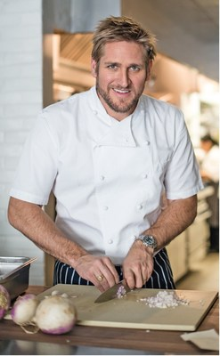 Chef Curtis Stone is embarking on a partnership with Princess Cruises to serve up culinary creations across the cruise line's fleet of 18 ships.