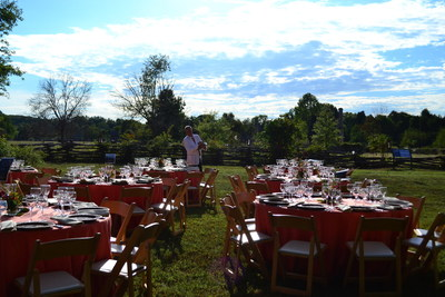 National Colonial Farm in Accokeek, MD host second annual Taste of Fall Farm Dinner
