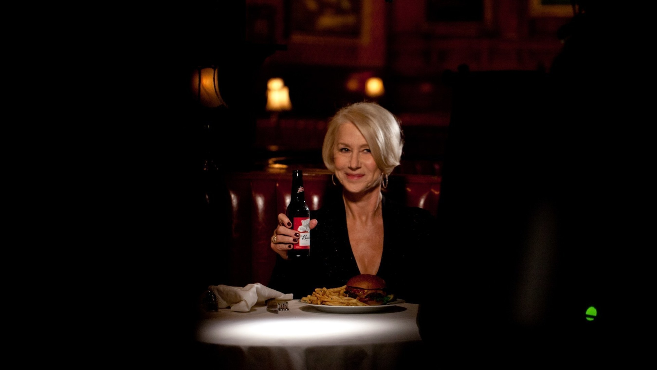 Budweiser and Helen Mirren put drunk driving on notice in bold new Super Bowl campaign, which includes ...