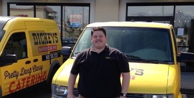 Owner/Operator Danny DeMarco opens Dickey's Barbecue Pit in Pomona on Thursday