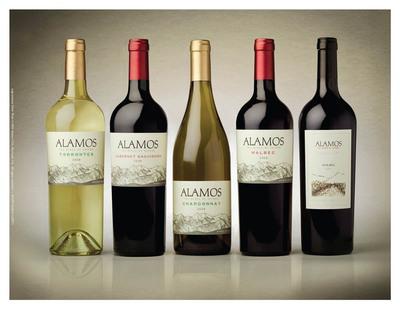 The Alamos portfolio of wines.  (PRNewsFoto/Alamos Wines)