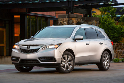 Acura MDX Wins 2014 AutoGuide.com Utility Vehicle of the Year Award. (PRNewsFoto/Acura)