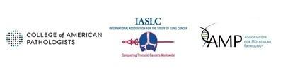 CAP, IASLC, and AMP logos