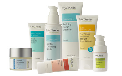 Natural skin care company MyChelle Dermaceuticals is revealing an updated brand identity, redesigned packaging, an easier-to-navigate website, and a streamlined skin care collection, including new product additions for fall. While MyChelle has long been a top-seller in the natural beauty category, the rising demand for effective, eco-conscious formulas created an opportunity to update the brand's identity. The sustainable packaging is now easier to read and products are grouped by their function (e.g., Cleansers, Moisturizers, etc.). The revamped packaging system allows the consumer shop for their basic skin care needs, and select specialized formulations that address specific skin care conditions. www.mychelle.com