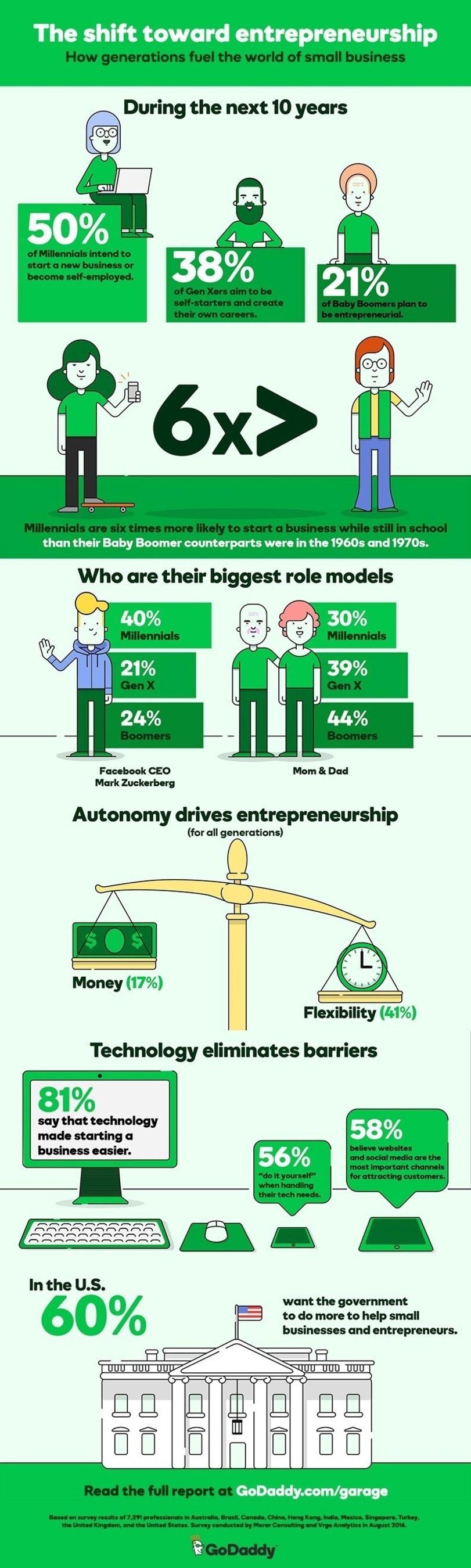 GoDaddy Global Survey Infographic