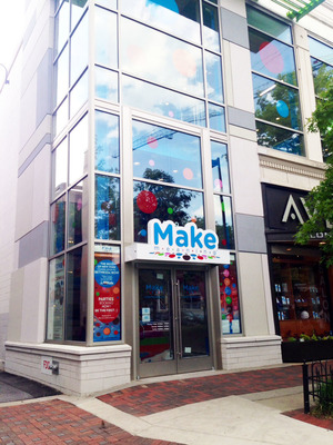 "Award-Winning Creative Activity And Events Destination, ""Make Meaning"" Debuts Sixth Location At Bethesda Row In Bethesda, Maryland June 9th 2014"