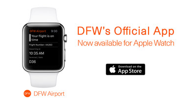 DFW Airport becomes first U.S. airport to launch Apple Watch App