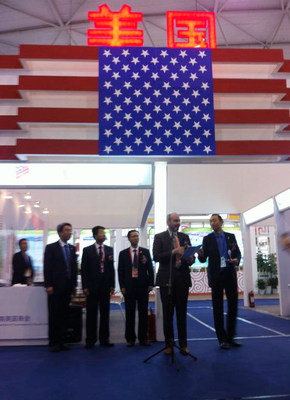 AmCham South China U.S National Pavilion Opening Ceremony at WCIF