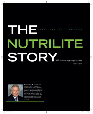 The Nutrilite Story eBook cover (PRNewsFoto/Amway)
