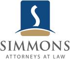 """Simmons Shareholder Amy Garrett Named """"40 Under 40 Illinois Attorney to Watch.""""  (PRNewsFoto/Simmons Browder Gianaris Angelides & Barnerd LLC)"""