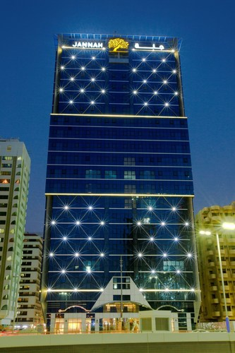 Jannah Burj Al Sarab on Mina Street in Abu Dhabi (PRNewsFoto/Seven Media) (PRNewsFoto/Seven Media)