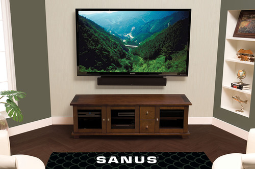SANUS® Focuses on TV Safety at CES 2013, Showcases New iPad® and iPad® mini Mounts, Media Furniture