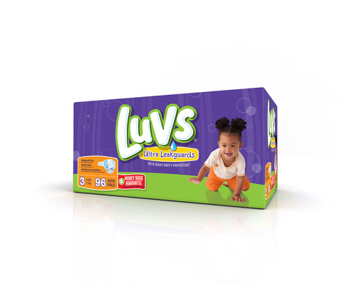 Luvs® Baby Diapers Unveils New Look of Luvs With Upgraded Packaging and New, Parent-Approved Heavy