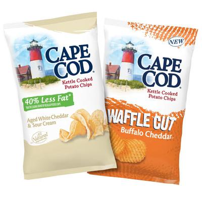 Cape Cod(R) Potato Chips Launches Two Savory New Cheese Flavors (PRNewsFoto/Cape Cod Potato Chips)