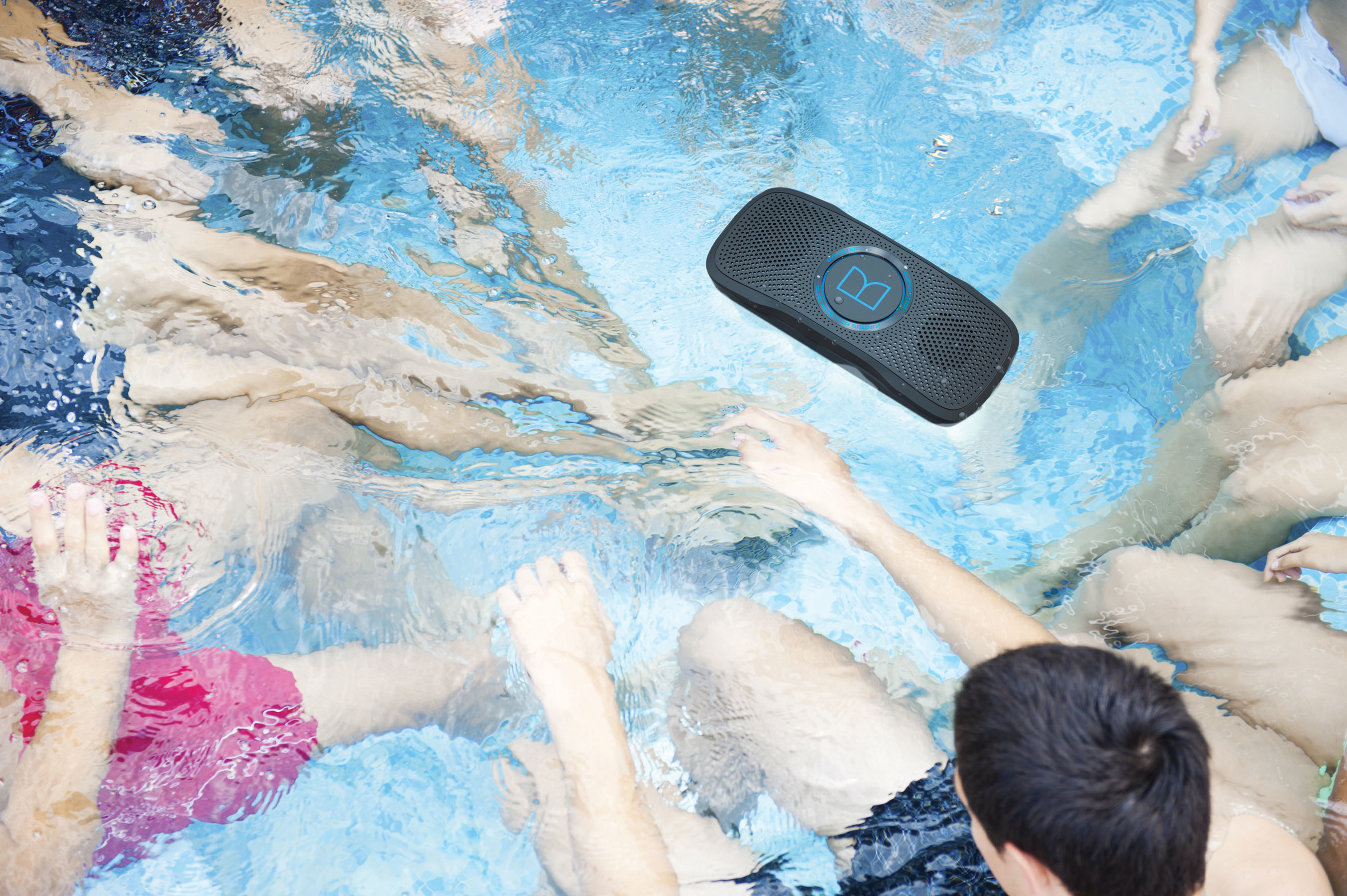 Monster is proud to announce the maiden voyage of its breakthrough SuperStar(TM) BackFloat(TM) (MSRP: $169) high-performance floatable portable speaker at CES 2015. No matter where you want to enjoy your music - beach, pool, shower, surfing, outdoors or around the house - SuperStar BackFloat delivers great sounding music, with acclaimed Pure Monster Sound(TM). SuperStar(TM) BackFloat(TM) features built-in mics that also offer speakerphone functionality for taking conference calls via a smartphone.