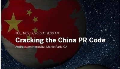 "The ""Cracking the China PR Code"" seminar will offer pragmatic guidance for brand building in China"