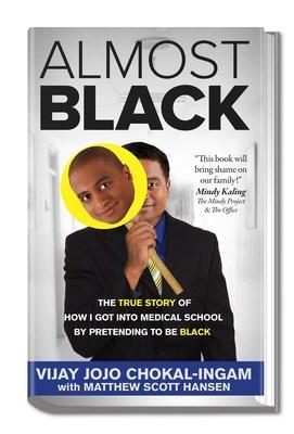 Almost Black Book Cover