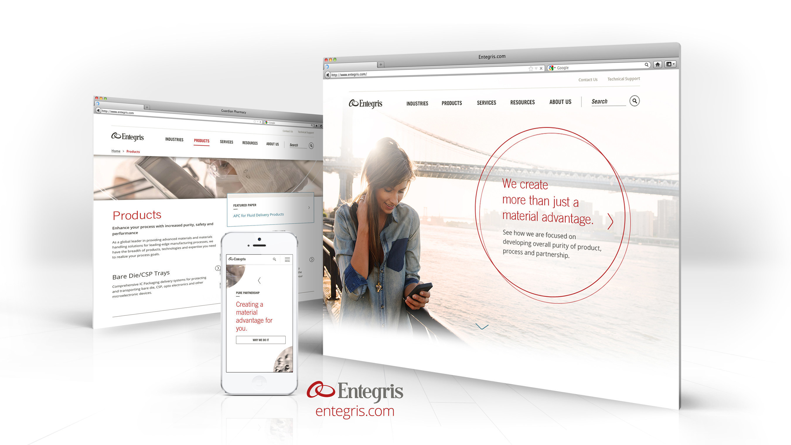 Entegris Launches New Website for Improved Customer Access