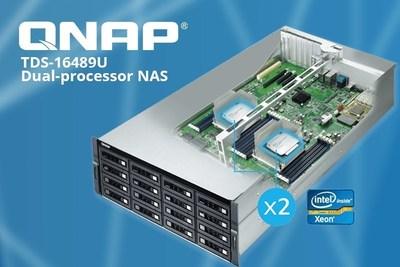 The QNAP TDS-16489U.