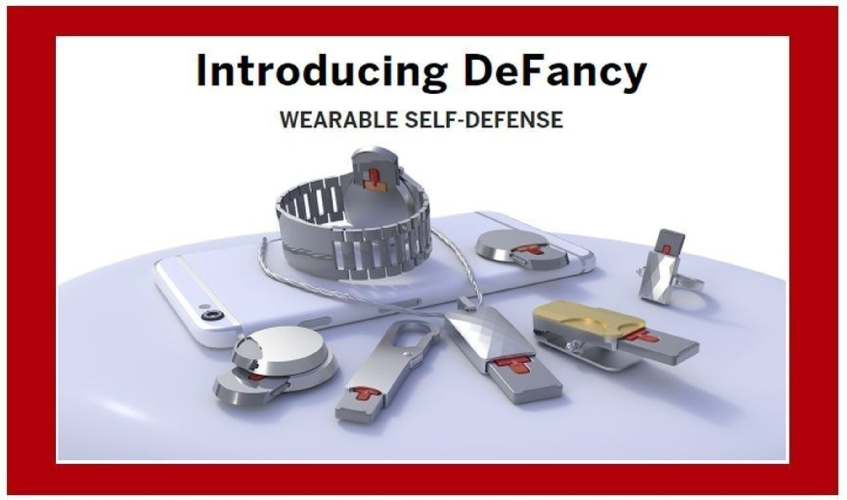 DeFancy Launches a Campaign to Introduce Their Wearable Self-Defense Product Line