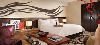 Nobu Hotel Caesars Palace King room designed by David Rockwell