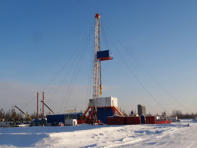 Jereh Cryogenic Drilling Rig Operated in -50C Weather (PRNewsFoto/Jereh Group)