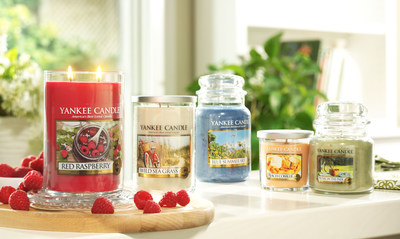 Introducing Yankee Candle's five new spring 2015 fragrances in its classic jar form.