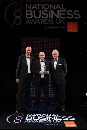 Baringa - 2012 winners of the Croner Employer of the Year Award (PRNewsFoto/National Business Awards)