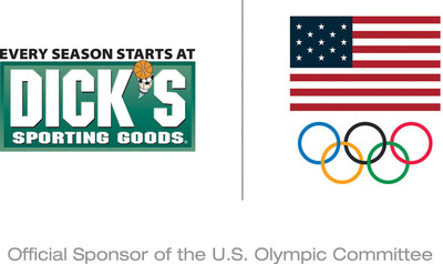 DICK'S Sporting Goods Official Sponsor of the U.S. Olympic Committee