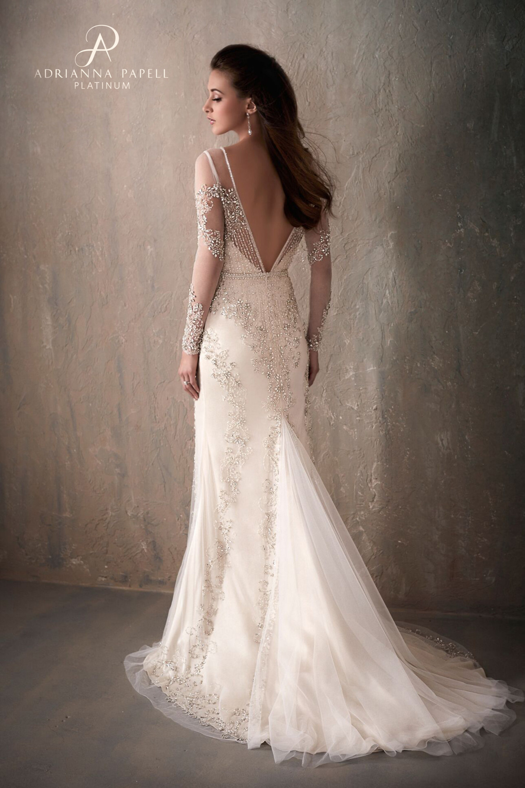 cb7b8ecfc8 Adrianna Papell announces new exclusive Platinum Bridal Collection
